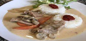 Blanquette de veau au restaurant chez claudia Seine et marne 77